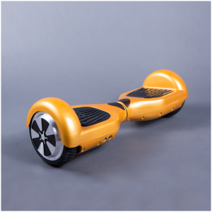 Hoverboard Feetboard Zlatá chrómová